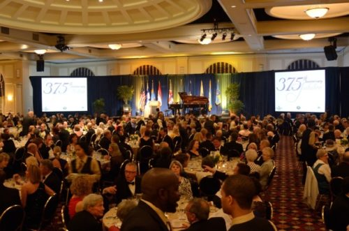375th Jubilee Dinner - Anniversary of the Founding of the New Sweden Colony